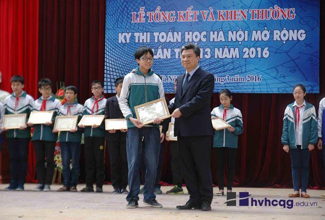 Kì thi toán học Hà Nội mở rộng năm nay đón thí sinh Quốc tế (2)