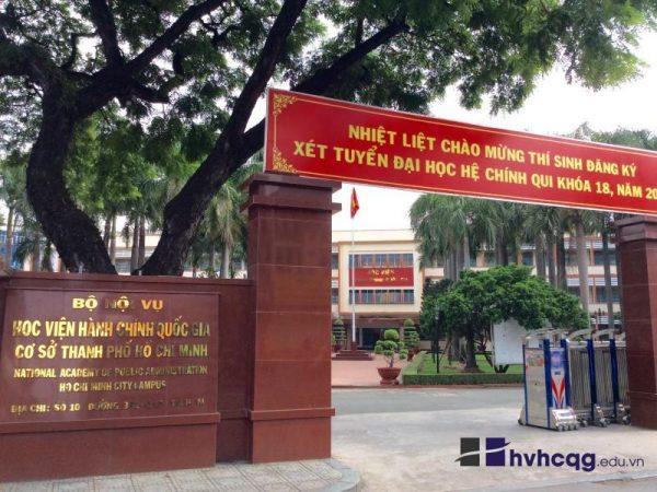 Thông tin tổng quan Học viện Hành chính quốc gia Thành phố Hồ Chí Minh
